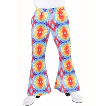 Flower power broek man Batik