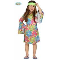 Hippie meisje flower power