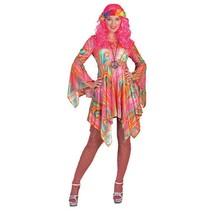 Hippie dames jurk psychedelisch