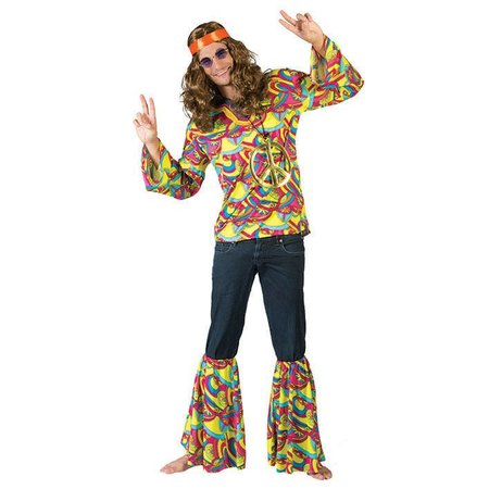 Hippie kostuum Hans
