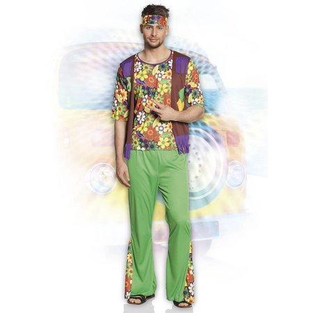 Hippie kostuum man woodstock