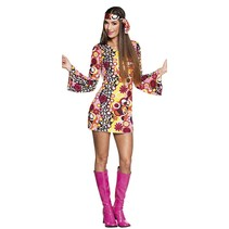 Hippie groovy kostuum