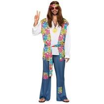 Hippie kostuum man budget