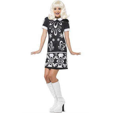 Monochrome Missy 60's jurk