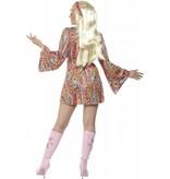 Hippie hottie kostuum dame