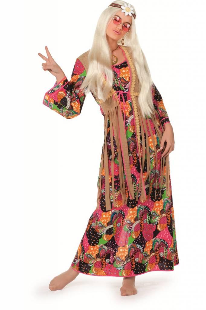hippie jurk lang elite | hippiekleding.nl