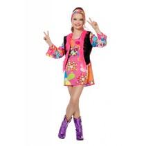 Hippie woodstock meisje