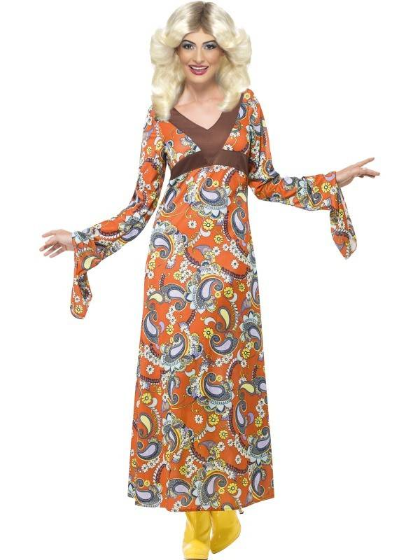 Hippie Kleding.Woodstock Hippie Jurk Hippiekleding Nl