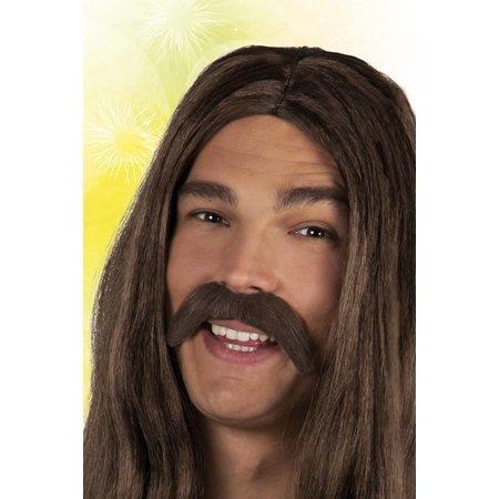 Snor Bruin Hippie