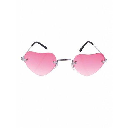 Roze Hartjesbril