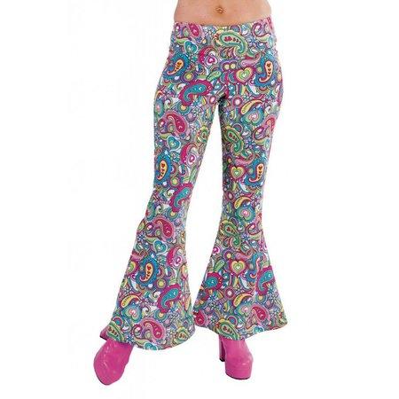 Hippie broek vrouw Happy