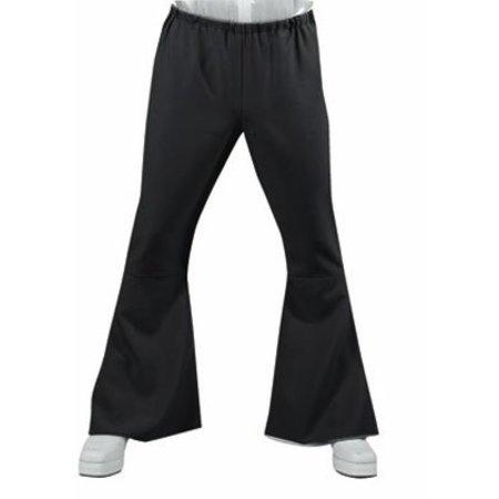 70's - 80's broek zwart