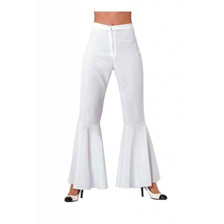 Hippie broek wit dames