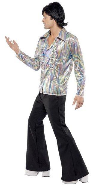 Retro Kleding.Jaren 70 Retro Kostuum Man Hippiekleding Nl