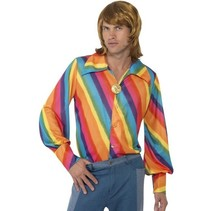 Rainbow 1970 blouse