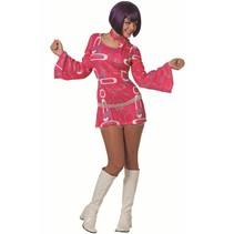 Hippie jurkje roze