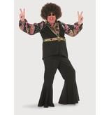 Hippie shirt man
