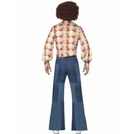 70's Denim look broek