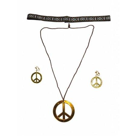 Sieradenset hippie 3-delig