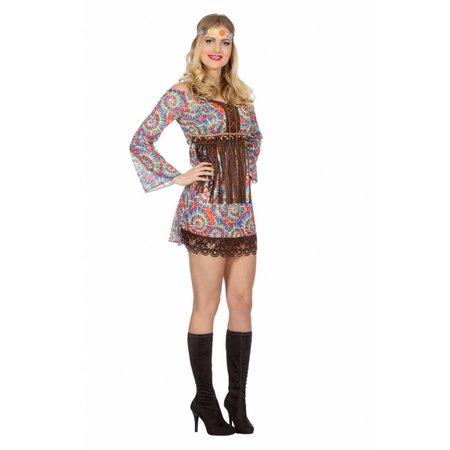 Hippie Woodstock Dames Kostuum