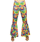 Flared Broek Hippie Stretch