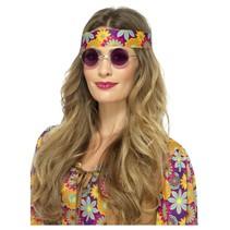 Paarse Hippie bril