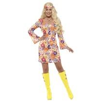 Hippie kostuum Flowers Dames