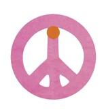 Slinger Peace gekleurd