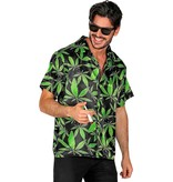 Blouse met Cannabis Print