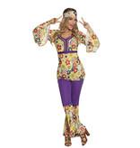 Blossom hippie kostuum dames