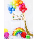 Folieballon Regenboog 73x45cm