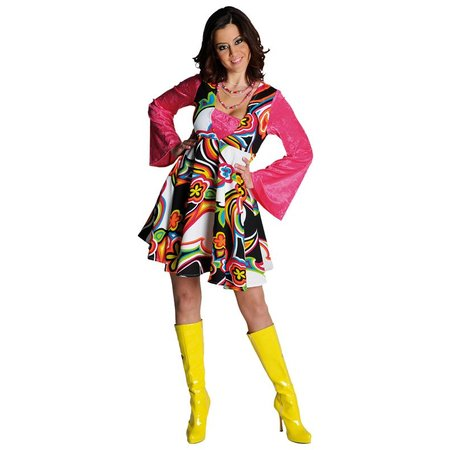 Fantasy 70's Babydoll jurk