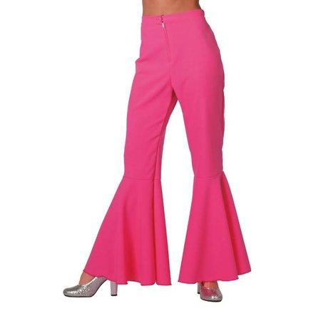 Hippie broek pink dames