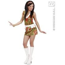 Sexy 60's mode meisje kostuum