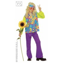 Hippie kleding kind 4-delig Prosperity