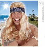 Pruik Carlifonia dreaming met hoofdband
