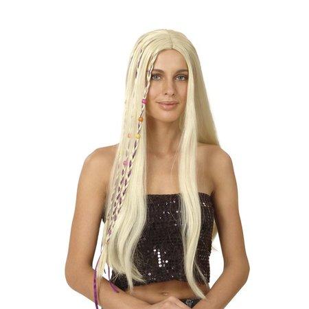 Pruik happy girl blond