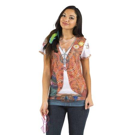 Foto Realistisch Shirt Hippie
