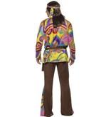 Sixties Hippie kostuum man