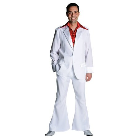 Gala 70's kostuum wit