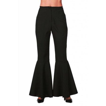 Hippie broek zwart vrouw