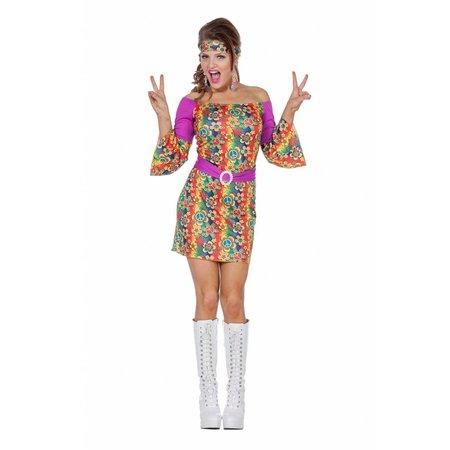 Hippie kostuum dames Topaz