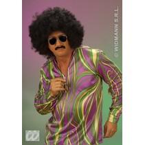 Pruik Afro Jason extra krul Elite