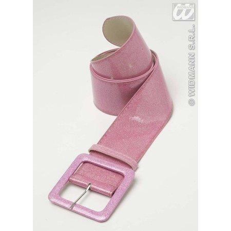 Riem roze glitter