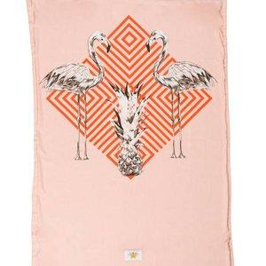 Mycha Ibiza Kikoy strandlaken flamingo oranje