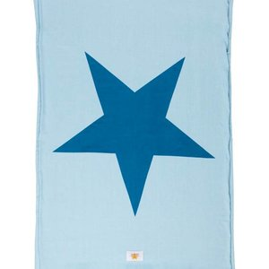 Mycha Ibiza Kikoy strandlaken Ibiza ster blauw