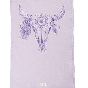 Mycha Ibiza Kikoy strandlaken Cow paars