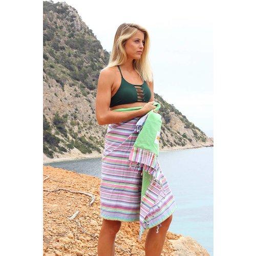 Mycha Ibiza Kikoy strandlaken Cala Sant vicent