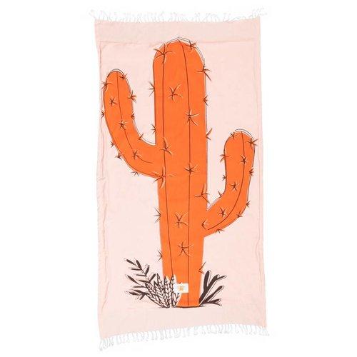 Mycha Ibiza Kikoy strandlaken cactus oranje