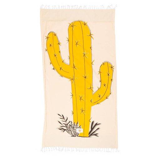 Mycha Ibiza Kikoy strandlaken cactus geel